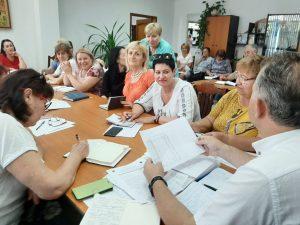 ședința cu conducătorii instituțiilor de învățământ din subordinea DETS Ciocana