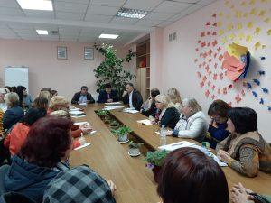 Reuniunea conducătorilor instituţiilor de învăţământ şi a membrilor comisiilor de triere din instituţii cu reprezentanţii ANSA