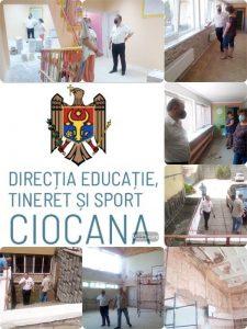 Unul din domeniile prioritare ale DETS sec.Ciocana este crearea condițiilor optime de funcționare a instituțiilor de educație
