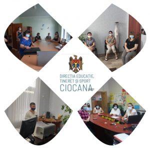 Angajații IET au participat la o instruire on-line în legătură redeschiderea grădinițelor